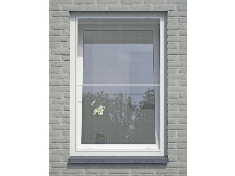 Bruynzeel S500 moustiquaire de fenêtre 150x120 cm blanc