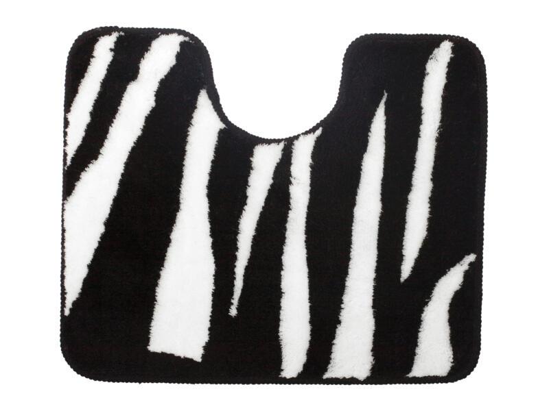 Sealskin Safari WC-mat 50x60 cm zwart/wit