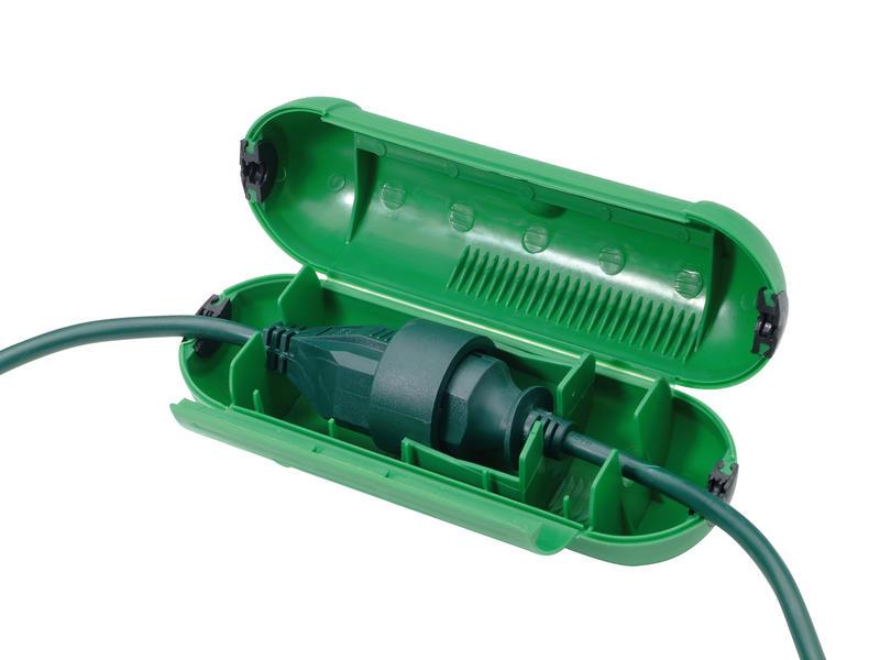 Profile Safebox voor stekker PR100 groen