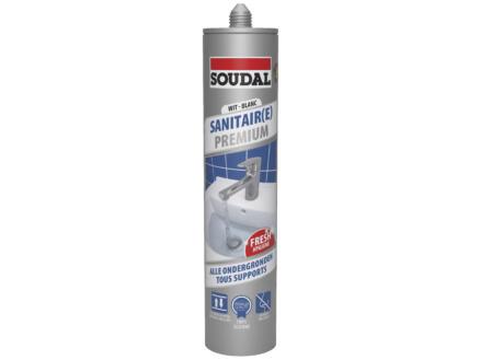 Soudal Sanitair Premium siliconenkit 290ml wit