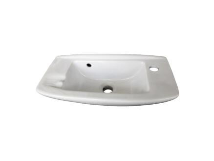 Lafiness Sanivit handenwasser 51x24,5 cm wit