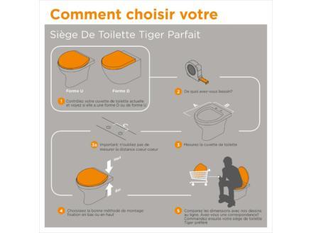 Tiger Scaffold WC-bril steigerhout