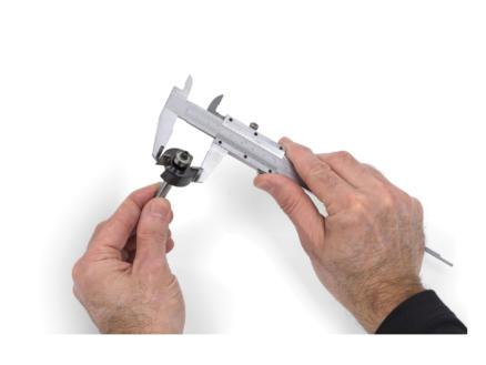 Kreator Schuifmaat 15cm inox