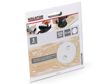 Kreator Schuurschijf K120 125mm verf KRT230557