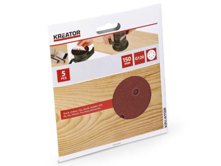 Kreator Schuurschijf K120 150mm KRT231007