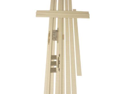 Solid Senza Classico deurkast 202,2x40 cm witte eik