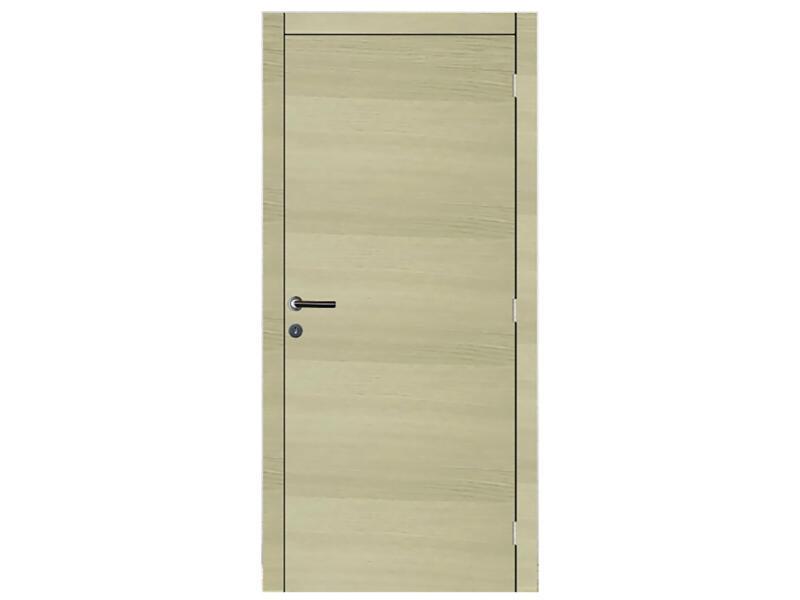 Solid Senza Oak Amato binnendeur 201x83 cm eik bruin