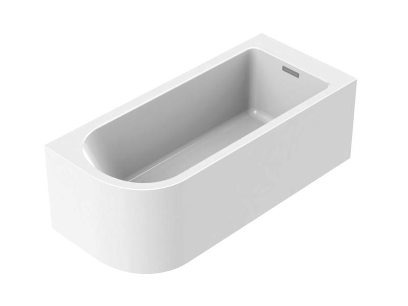 Allibert Serena baignoire indépendante 170x75 cm asymétrique à droite
