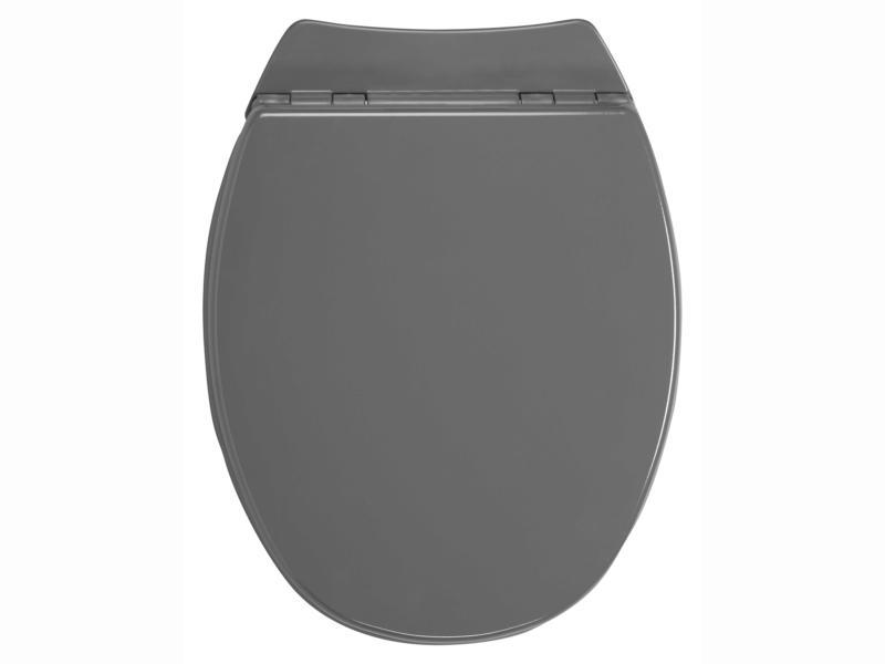 Allibert Serenity 2 WC-bril donkergrijs