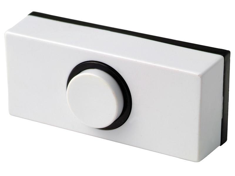 Sesame bouton poussoir sonnette blanc