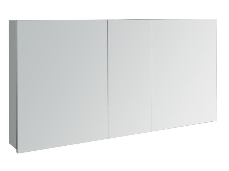 Lafiness Slide spiegelkast 120cm 3 deuren grijs