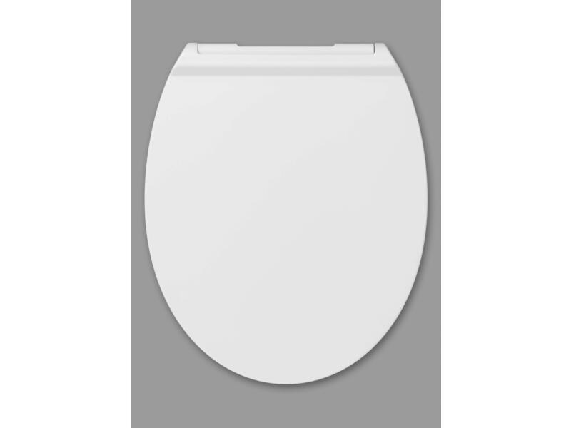 Slim WC-bril wit
