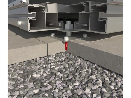 Biohort SmartBase fondation à visser Europa 1 et Equipment Locker 150