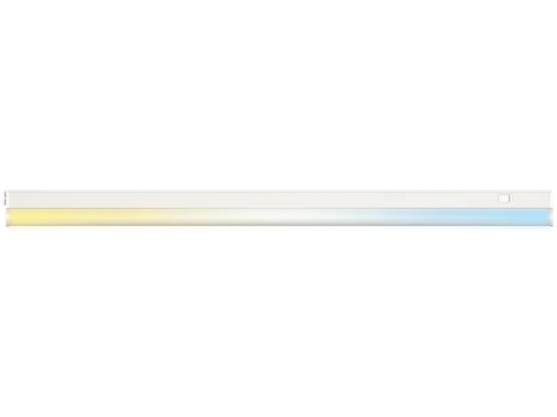 jedi sol 2 en 1 clairage sous meuble led 8 2w 700lm blanc. Black Bedroom Furniture Sets. Home Design Ideas