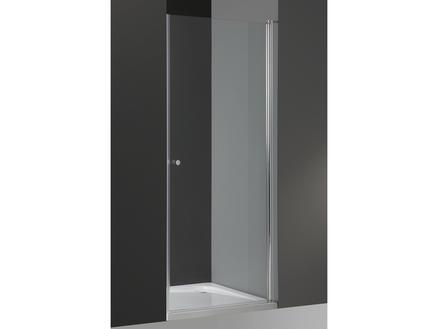 Lafiness Solide 6 porte de douche pivotante 90x200 cm verre transparent