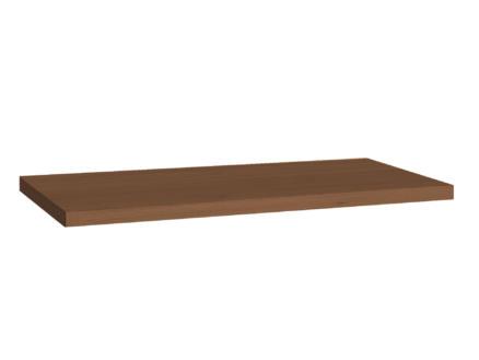 Allibert Sorento plan de toilette 80cm chêne cognac