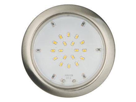 Jedi Spot LED encastrable 2W nickel