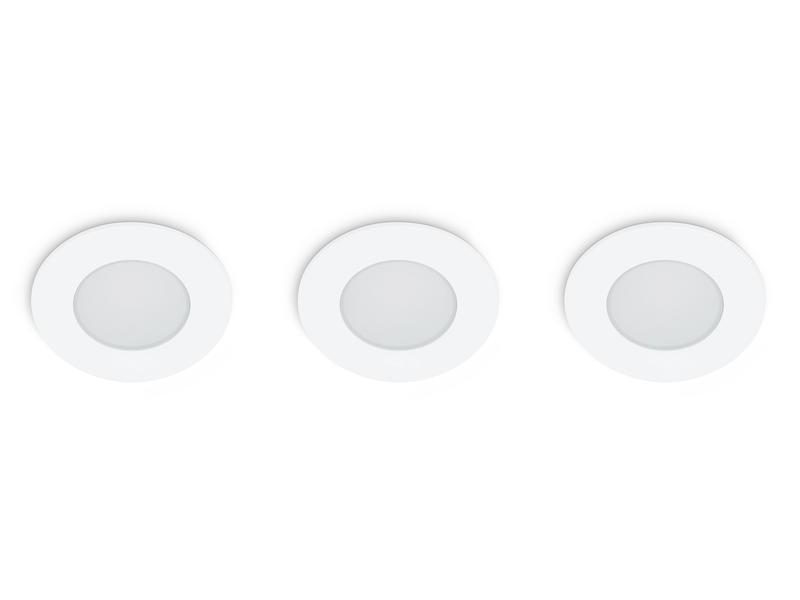 Prolight Spot LED encastrable 5W IP65 3 pièces