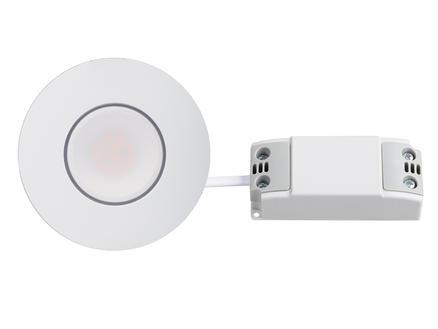 Jedi Spot LED encastrable Sigma 3,5W blanc 3 pièces