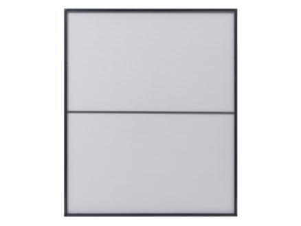 CanDo Standard moustiquaire de fenêtre 100x120 cm anthracite