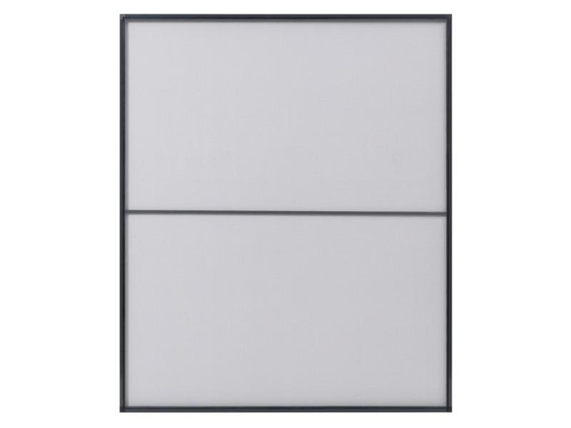 CanDo Standard moustiquaire de fenêtre 120x150 cm anthracite