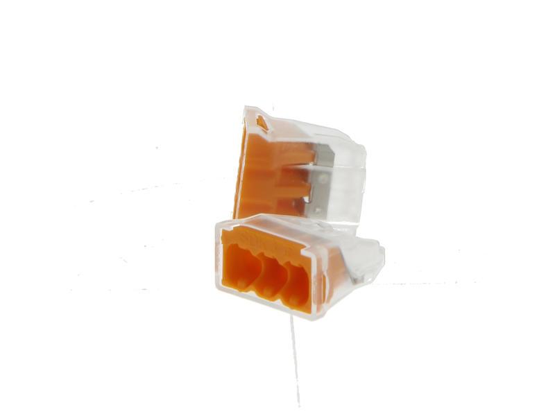 Steekklem mix 3x 0,5-2,5 mm² 10 stuks + 4x 0,5-2,5 mm² 10 stuks