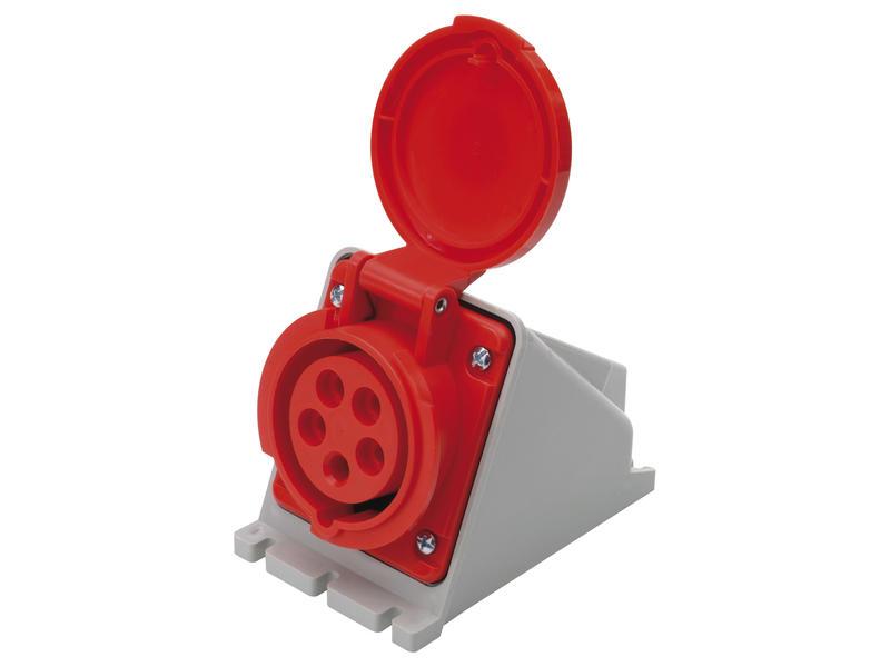 Stekker CEE 16A 5-polig rood