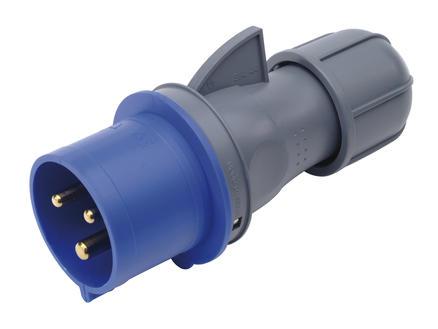 Profile Stekker CEE 32A 3-polig blauw