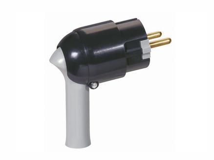 Legrand Stekker met uittrekkmechanisme 16A zwart