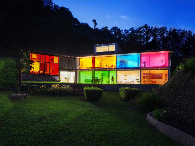 Wiz Stellar Color LED plafondlamp 23W + afstandsbediening