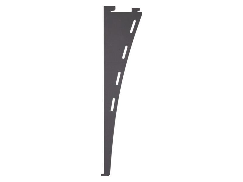 Steun enkel design 30cm aluminium