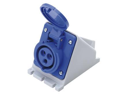 Stopcontact CEE 32A blauw