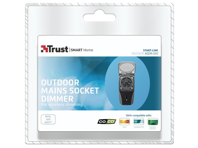 Trust Stopcontactdimmer voor buiten