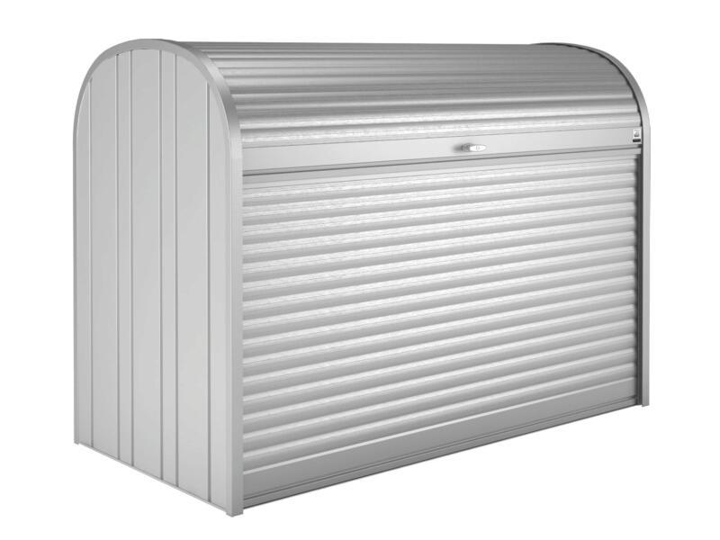 Biohort StoreMax 190 tuinberging 190x97x136 cm zilver metallic