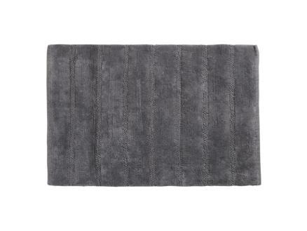 Differnz Stripes badmat 75x45 cm grijs