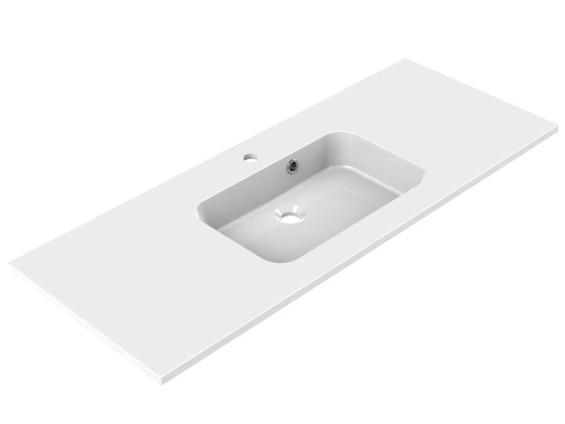 Allibert Style lavabo encastrable 120cm polybéton