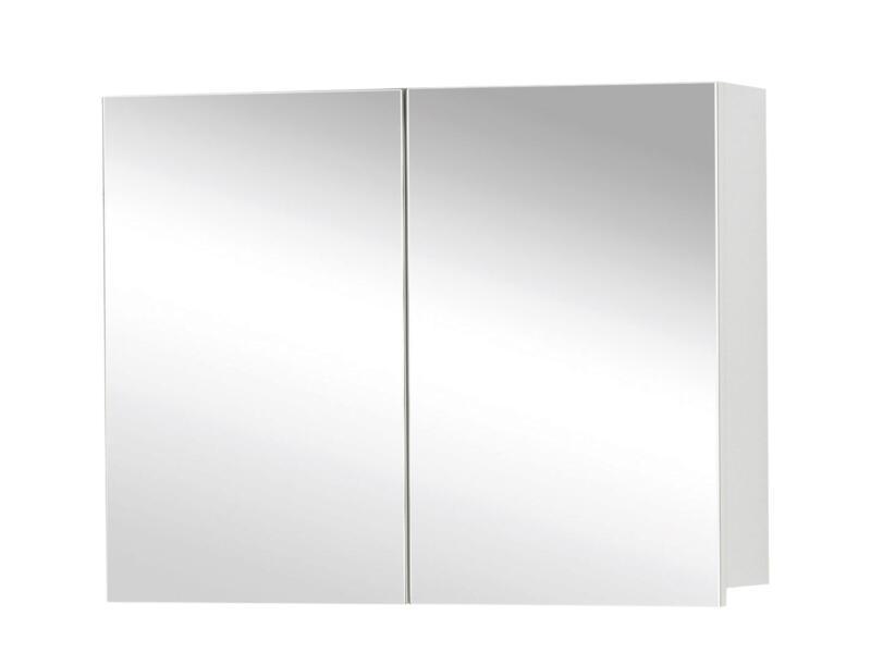 Style spiegelkast 60cm 2 deuren mat wit
