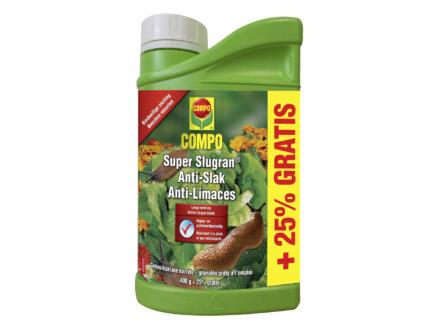 Compo Super Slugran Anti-Slak korrels 400g + 25% gratis