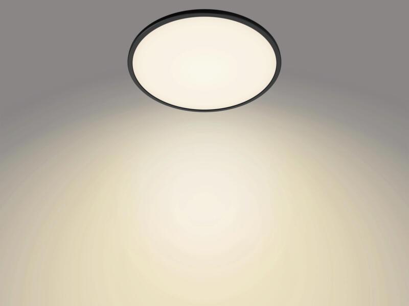 Philips Superslim LED plafondlamp 18W dimbaar zwart