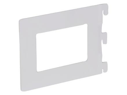 Support de livres 14,2x11,8 cm blanc