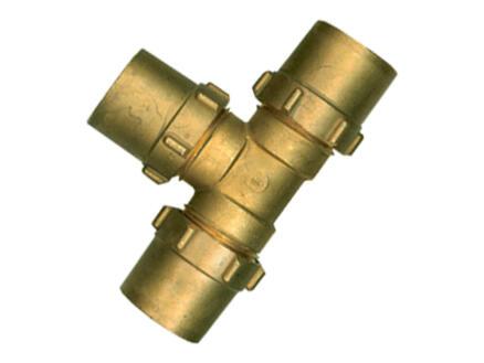 Saninstal T-klemkoppeling 15x15x15 mm gas