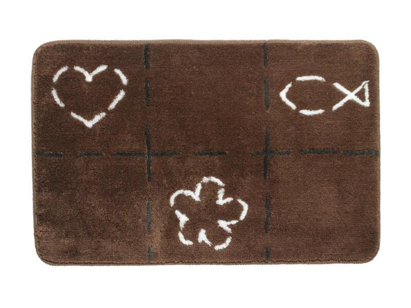 Sealskin Tack badmat 90x60 cm bruin