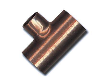 Saninstal Té 90° FFF 22x15x22 mm cuivre