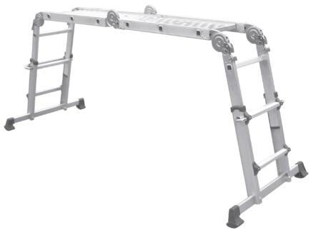 Escalo Telefold telescopische ladder 4x3 sporten