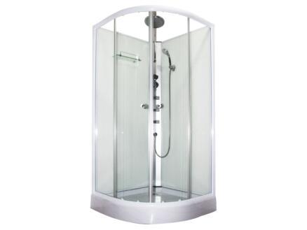 Terra cabine de douche 90x90x230 cm quart de rond