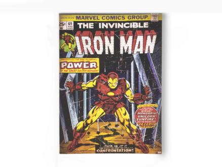 The invincible Iron Man canvasdoek 50x70 cm