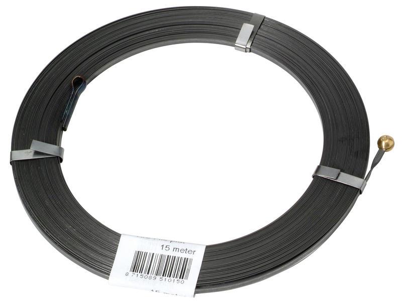 Tire-fil métal plat 15m