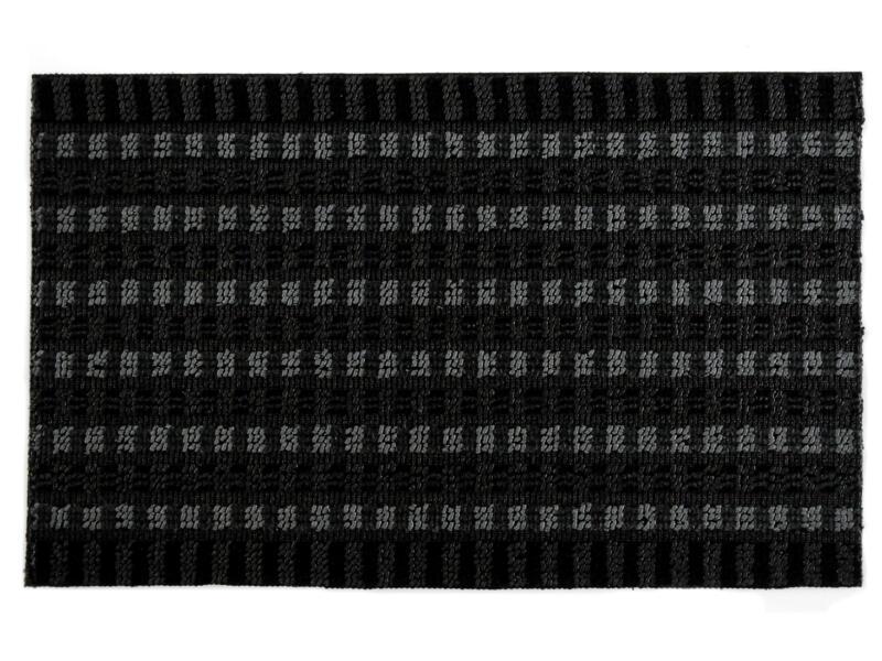 Topaz deurmat 50x80 cm antraciet