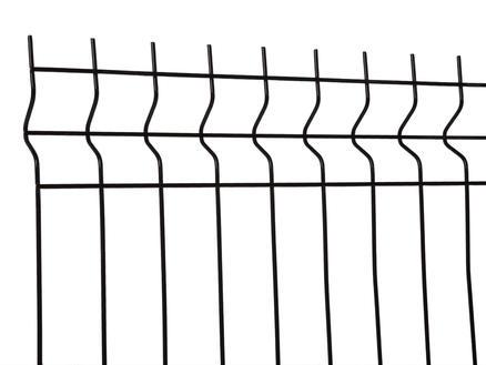 Giardino Torino draadpaneel 200x153 cm zwart