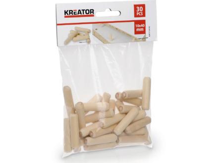 Kreator Tourillons 40x10 mm 30 pièces